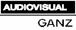 Audiovisual Ganz Logo weiss transparent